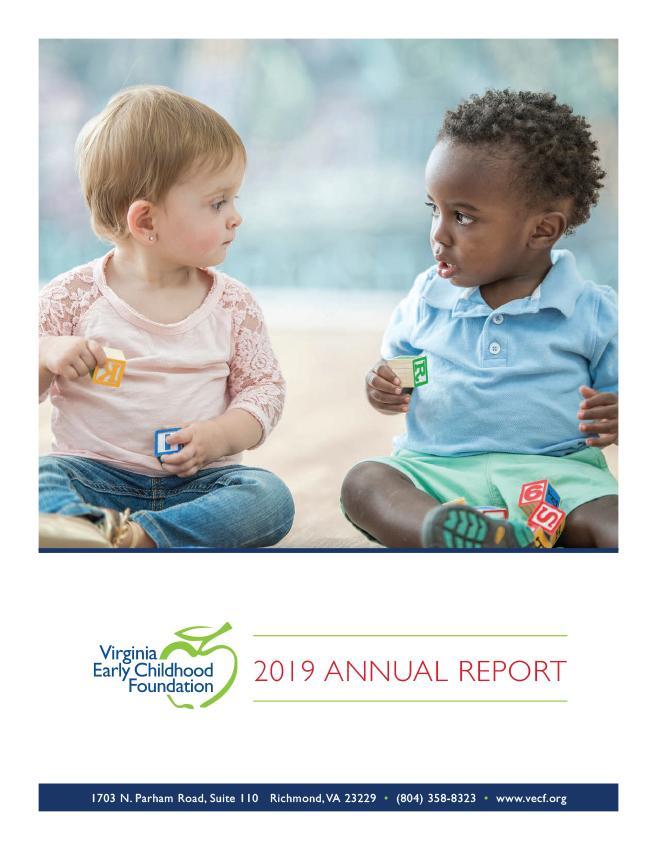 VECF Annual Report 2019
