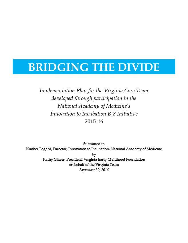 Virginia NAM Team Abbreviated Report
