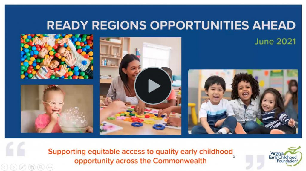 Opportunities Ahead for Ready Regions